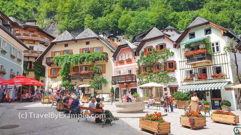 Marktplatz at Hallstatt
