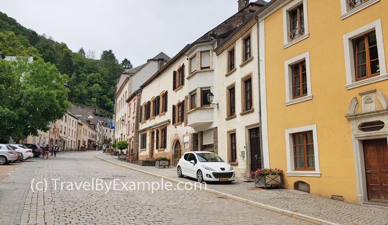 Grand-Rue street, Vianden