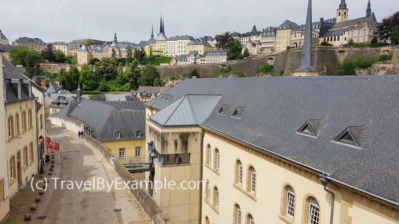 Travel by Example - Two-three days itinerary in Luxembourg