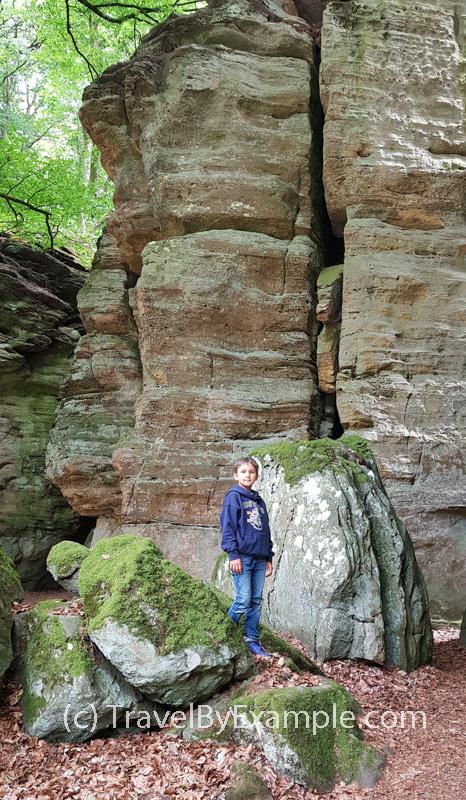 "Amazing rock formations in Luxemburg's ""Little Switzerland"""