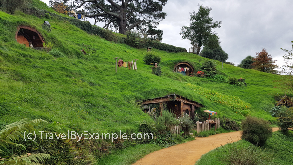 Lots of hobbit holes to see