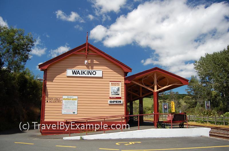 Waikino station of Goldfields Heritage Railway