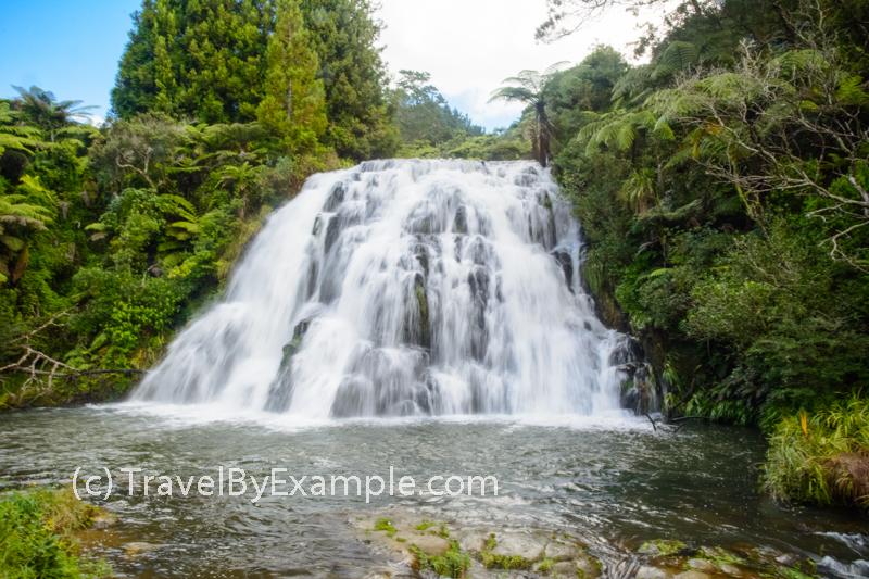 Beautiful Owharoa Falls in Karangahake