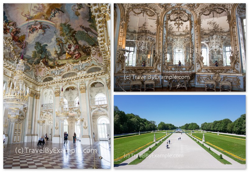 Lots of things to see in Nymphenburg Palace complex