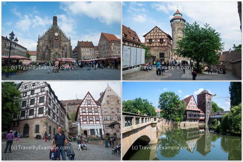 One week road trip itinerary in Bavaria - Nuremberg