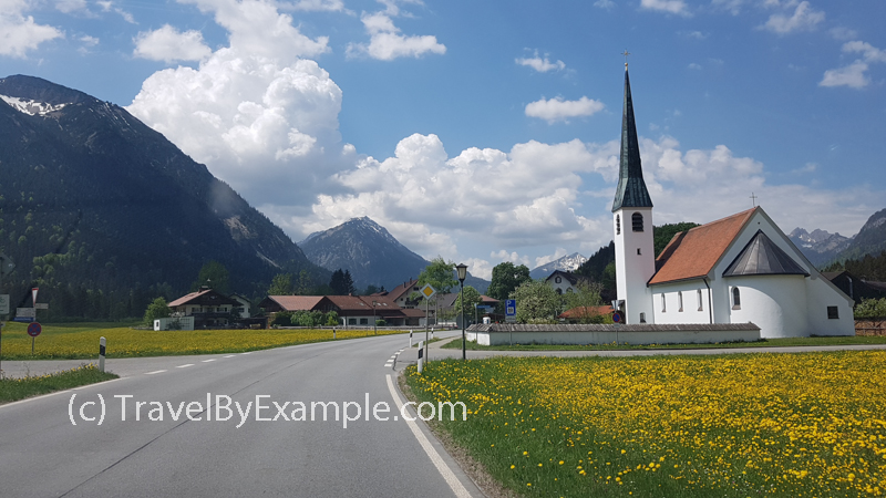 Driving in Bavaria, Germany