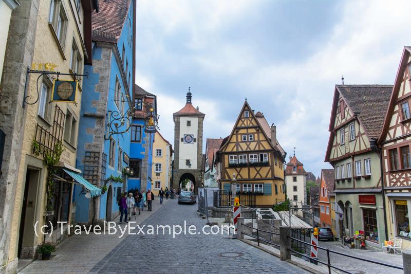 Medieval town of Rothenburg ob der Tauber