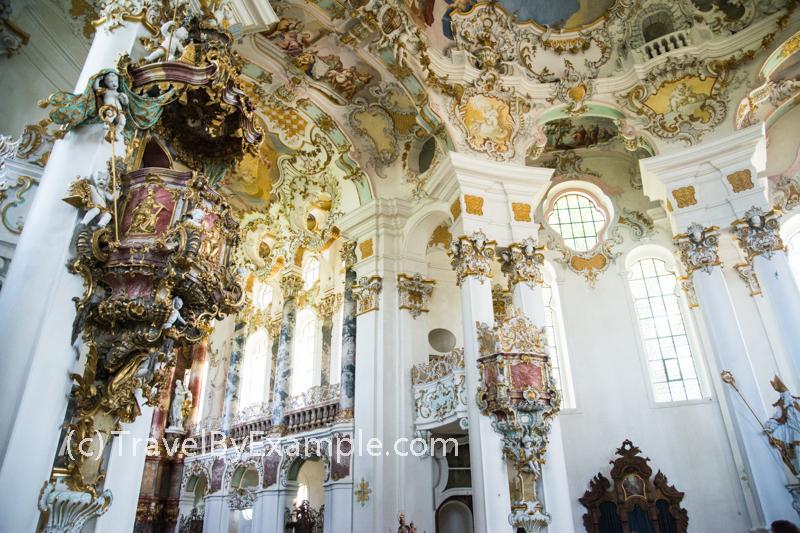 Wieskirche is on the UNESCO World Heritage List