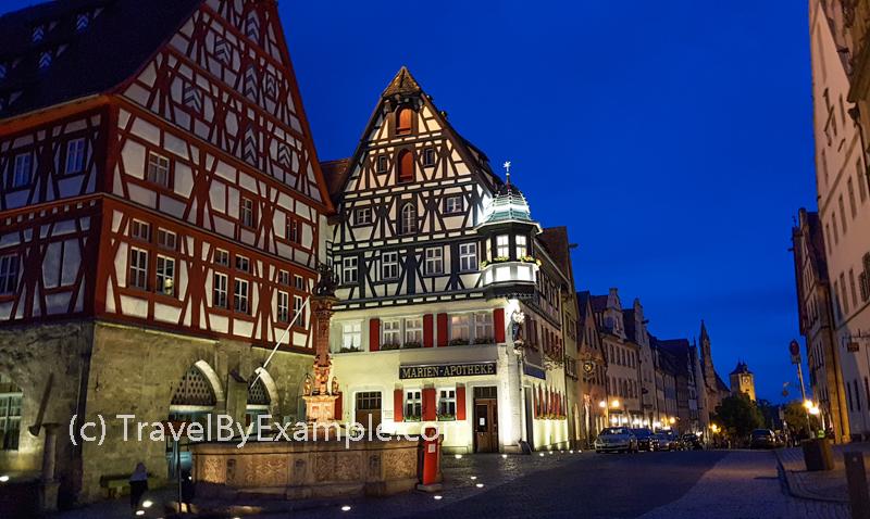 Former butcher's and dance hall on Marktplatz