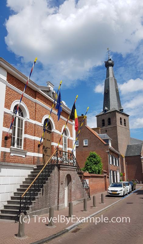 Former town hall of Baarle-Hertog