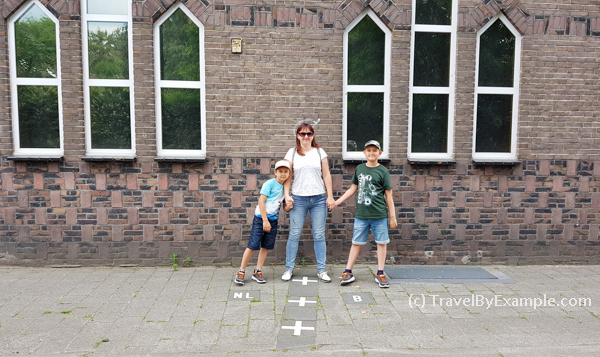 A house divided by border - one part is in Baarle-Nassau and another one is in Baarle-Hertog