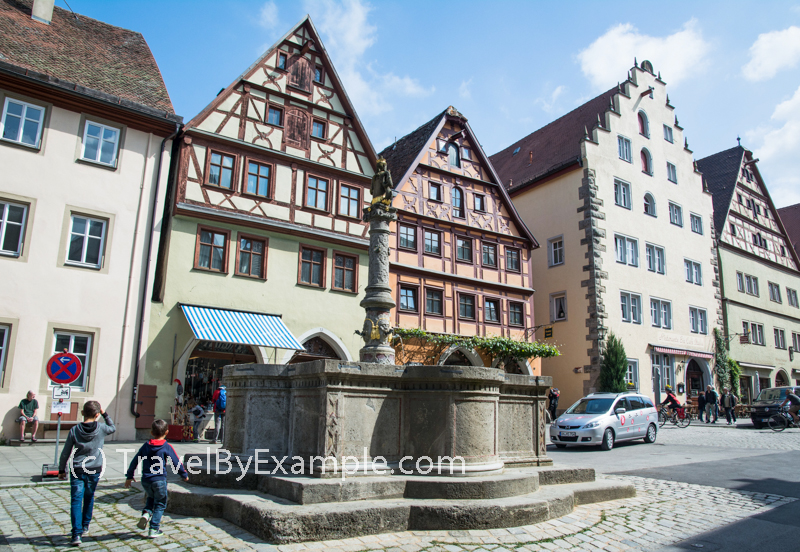 Visit Rothenburg ob der Tauber - a fairy tale town in Germany