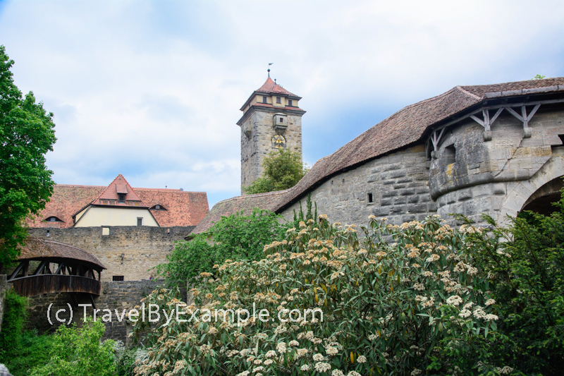 Spitaltor gate, watch tower and bastion