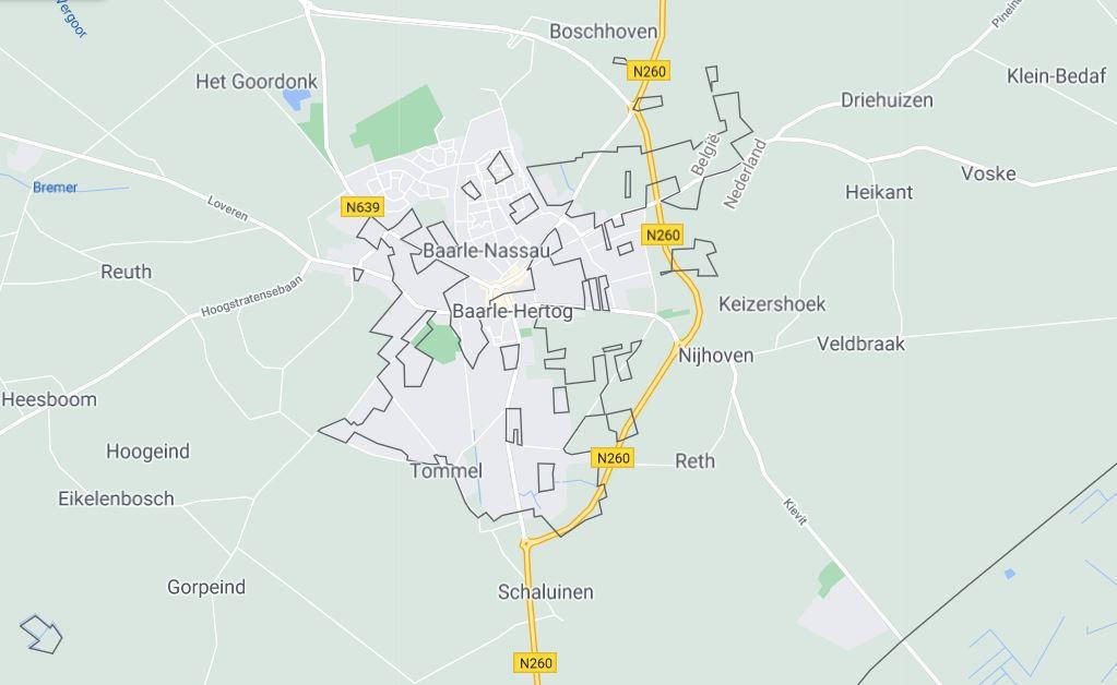Visiting Baarle - a town split by Belgium–Netherlands borders